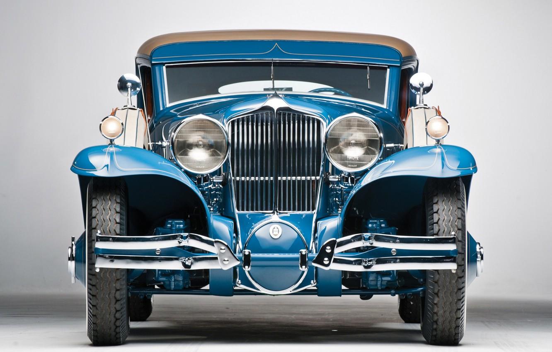 Photo wallpaper Blue, Vintage, Retro