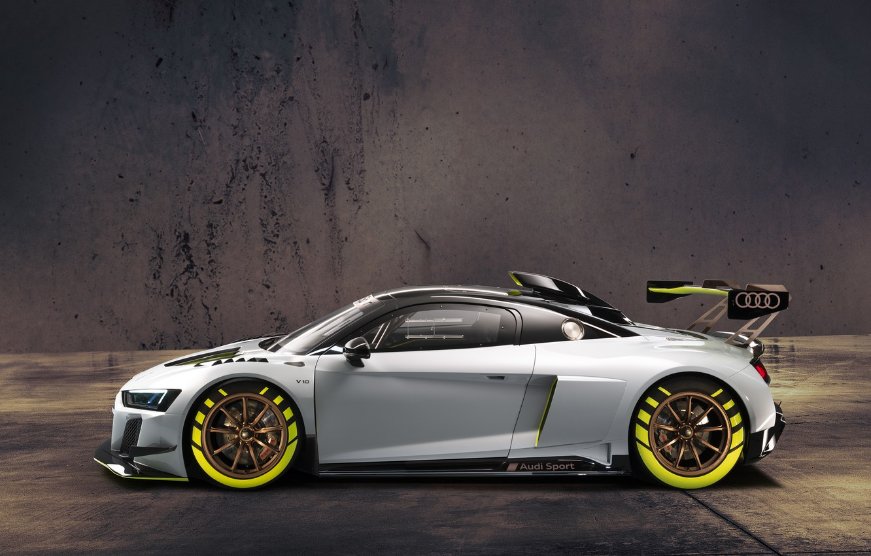 Photo wallpaper Audi, sports car, Audi R8, GT2, LMS
