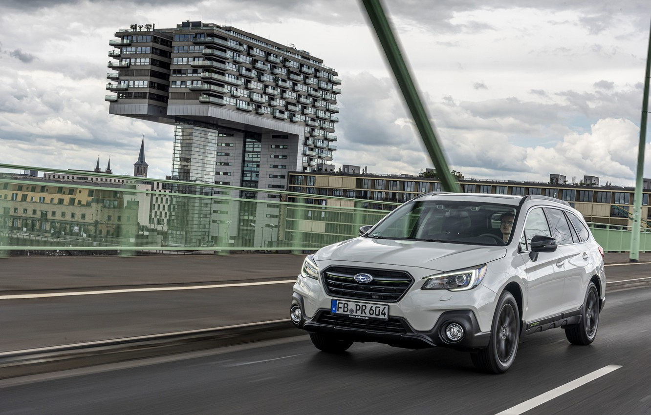 Photo wallpaper the city, Subaru, Outback, 2020, 2019, Sport X