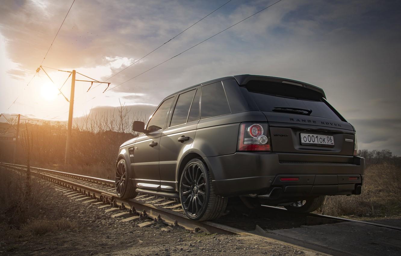 Photo wallpaper Land Rover, Range Rover Sport, land Rover, Range rover, range Rover, Ingushetia, Ingushetia, high, range …