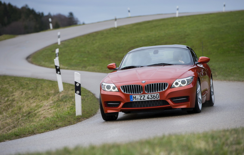 Photo wallpaper BMW, Roadster, 2013, E89, BMW Z4, Z4, sDrive35is, S-shaped road