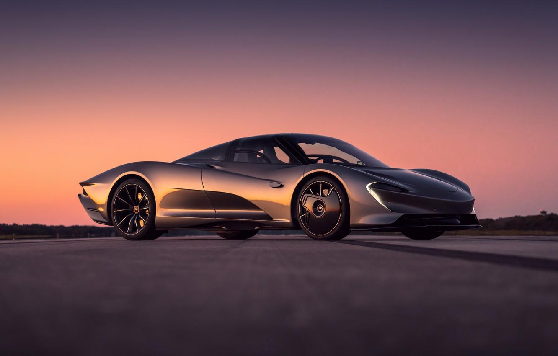 Photo wallpaper concept, Car, 2020, McLaren, McLaren Speedtail Concept