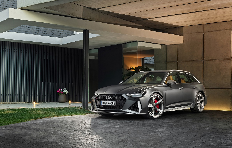 Photo wallpaper Audi, RS 6, RS6 Avant, Twin-Turbo