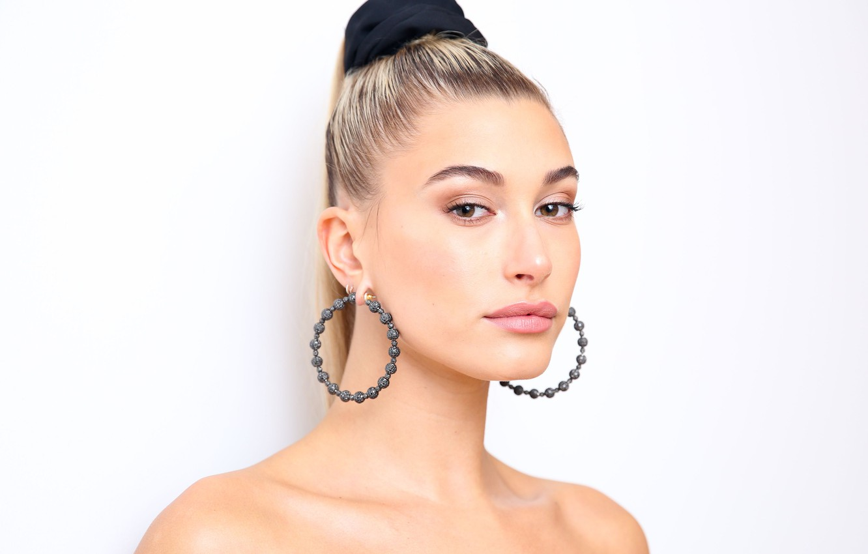 Photo wallpaper model, celebrity, Hailey Baldwin