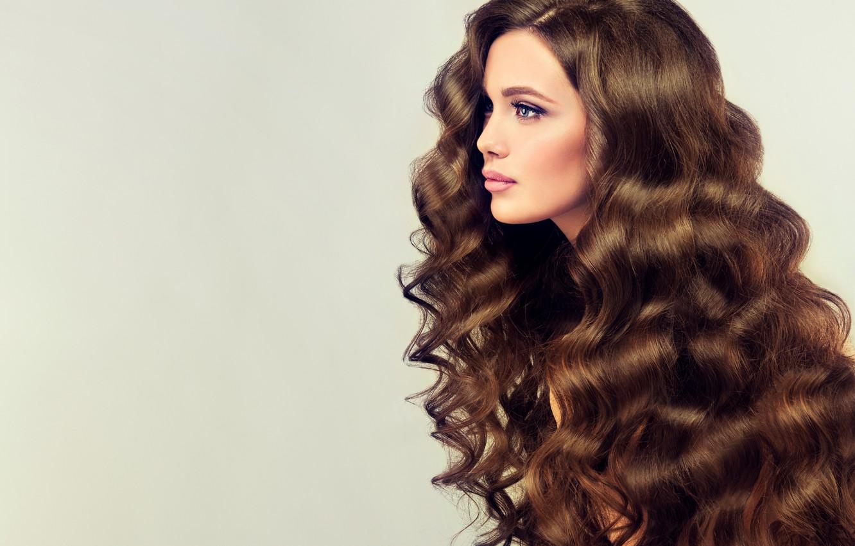 Wallpaper Girl Hair Brown Hair Beautiful Long Curls Hair Curly Edwardderule Images For Desktop Section Devushki Download