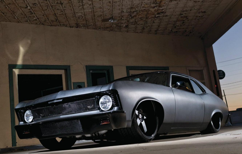 Photo wallpaper Chevy, Nova, Custom, Vehicle