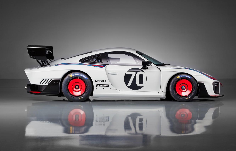 Photo wallpaper Porsche, profile, 2018, 935, jubilee spezzare