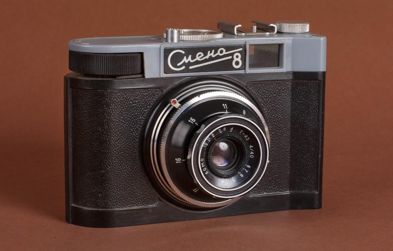 Photo wallpaper photo, USSR, change, stroytehnika, СМЕНА8, photographer Alexander butchers, old camera