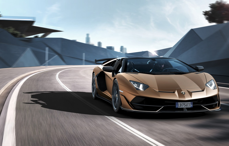 Wallpaper Machine Light Movement Lights Lamborghini Sports Car