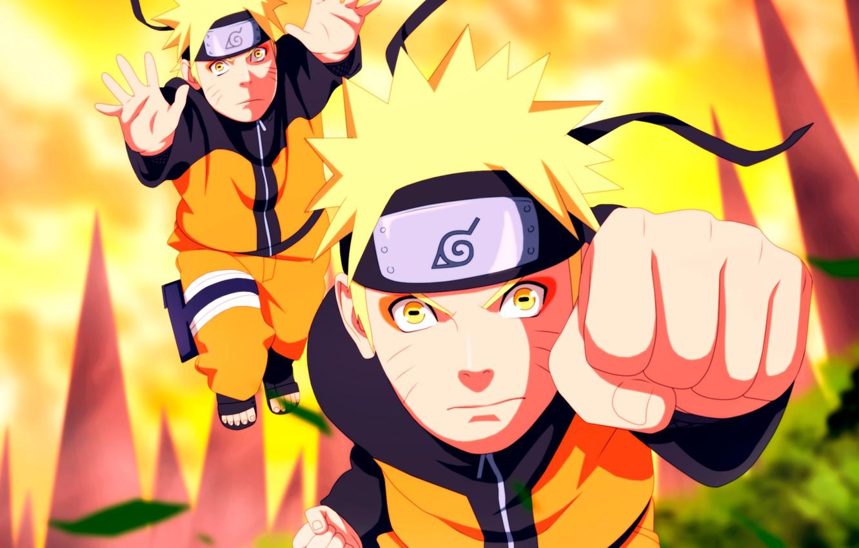 Photo wallpaper Naruto, Naruto, clones, Uzumaki Naruto
