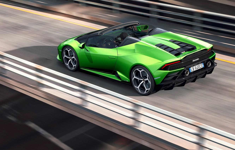Wallpaper Lamborghini Spyder Evo Huracan 2019 Lamborghini