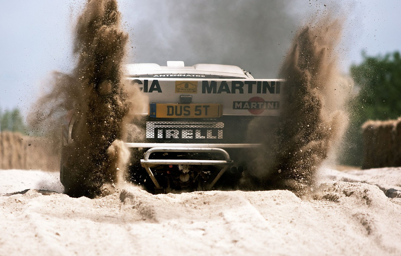 Photo wallpaper rally car, group b, lancia, lancia stratos
