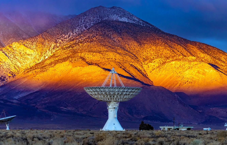 Photo wallpaper United States, California, Zurich, Wideband Radio Cal Tech Telescope