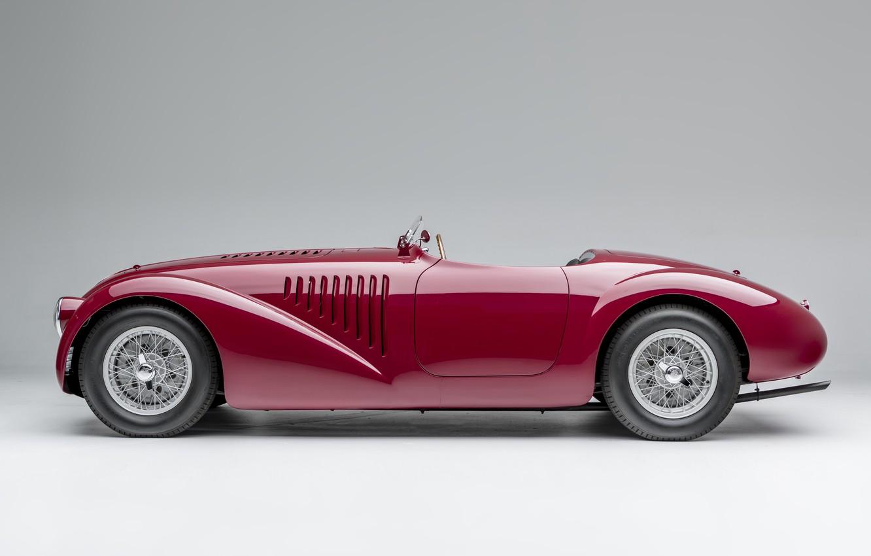 Wallpaper Spokes Ferrari Classic 1947 Classic Car Sports Car