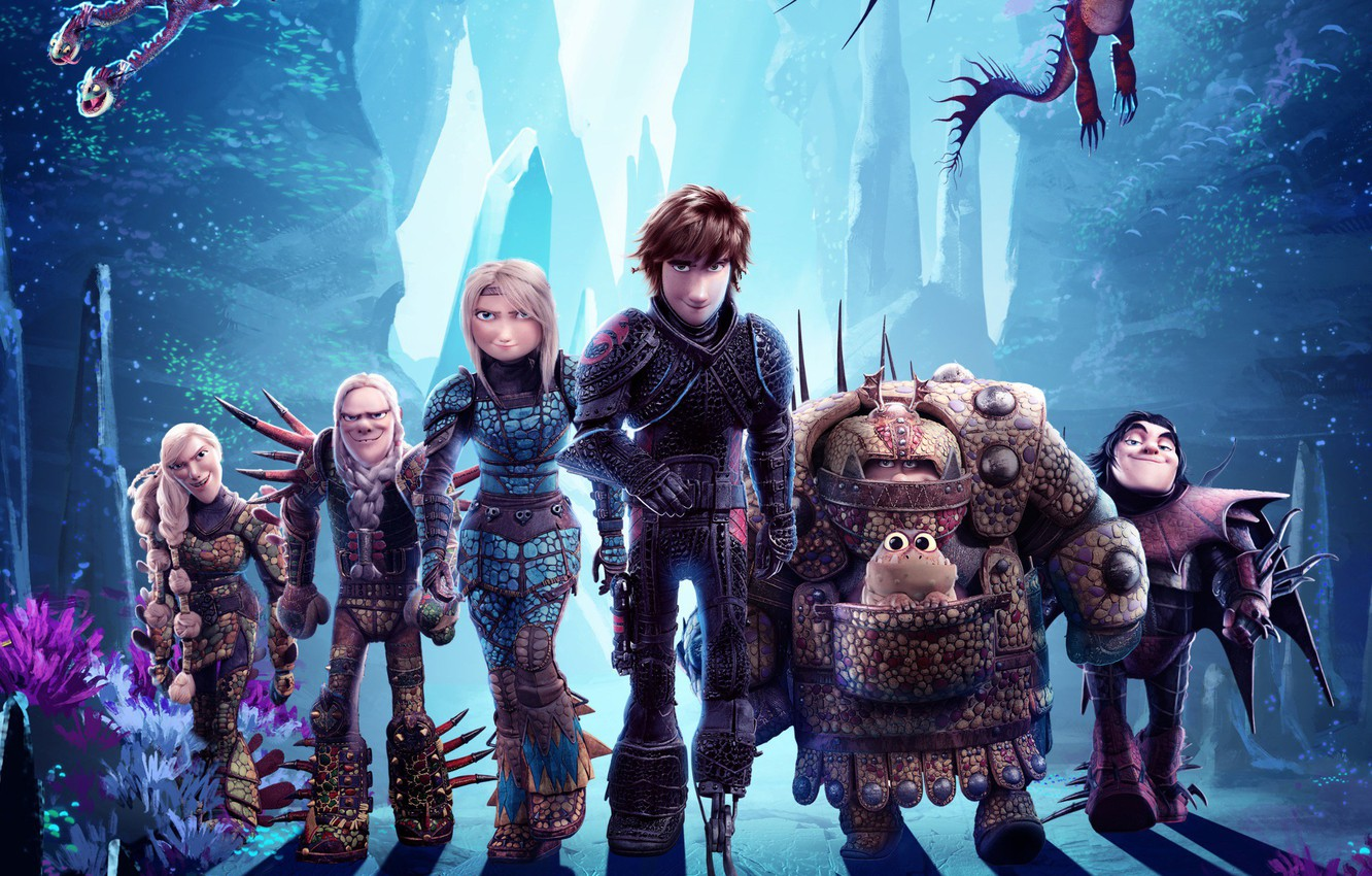 Wallpaper Dragons Characters How To Train Your Dragon 3