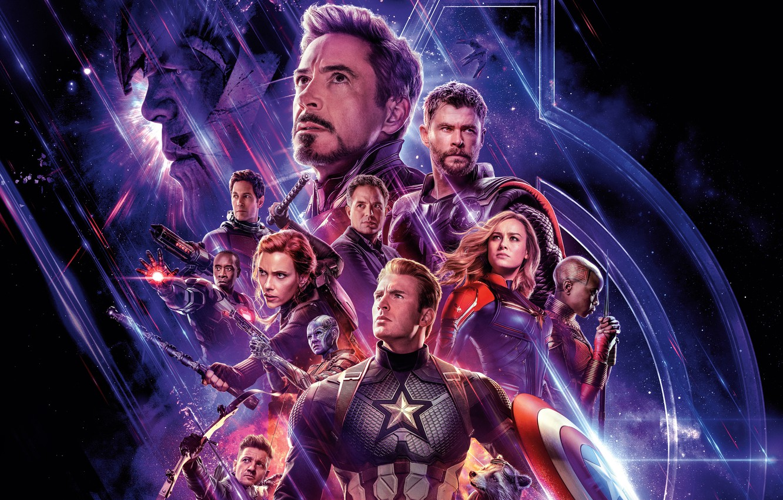 Photo wallpaper Scarlett Johansson, Action, Fantasy, Superheroes, Hulk, Space, Darkness, Galaxy, Men, Girls, Nebula, Iron Man, The, …