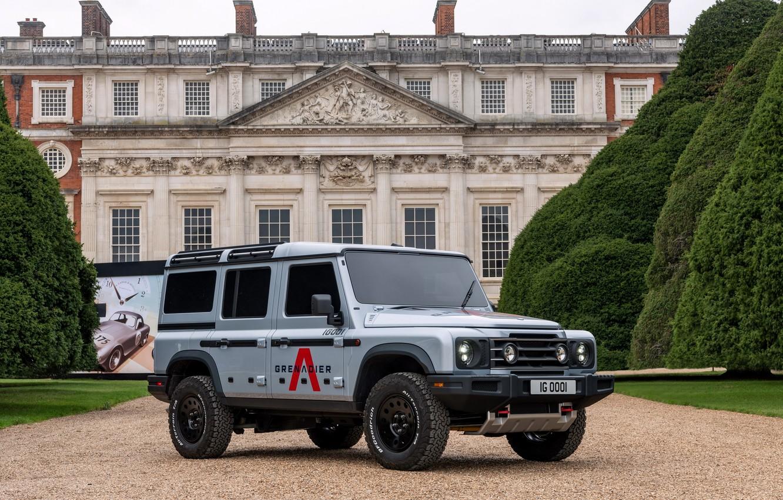 Photo wallpaper SUV, prototype, Grenadier, full-size, Ineos