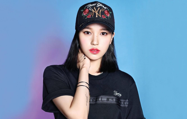 Wallpaper Girl Music Kpop Mina Twice Images For Desktop Section