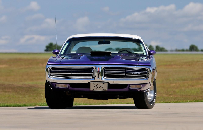 Photo wallpaper Dodge, Car, Purple, Charger