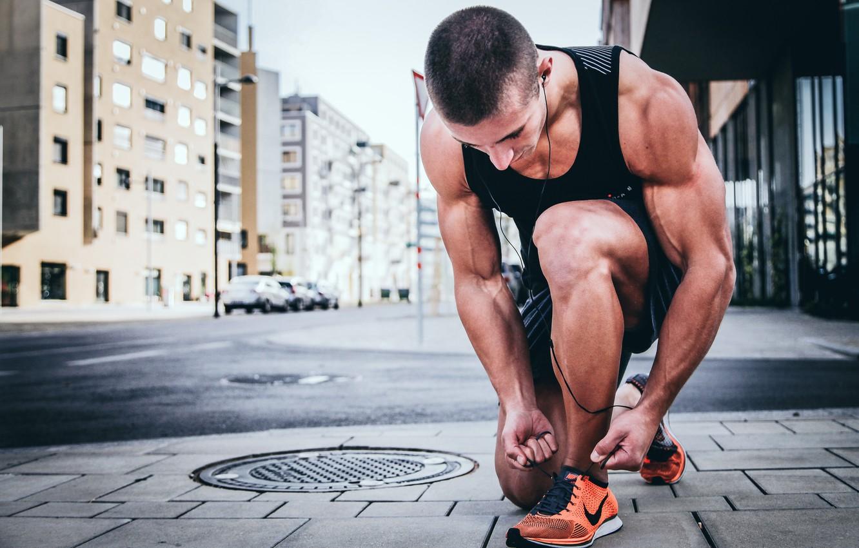 Photo wallpaper New York, Nike, Sport, Man, Vienna, Sprinting, Alexander Redl