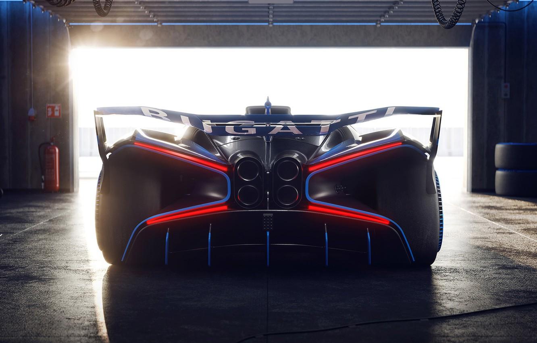 Photo wallpaper Concept, Bugatti, Bolide, 2020, 8.0, W-16 engine, 1825-HP