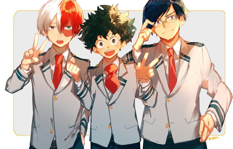 Wallpaper Guys My Hero Academia Boku No Hero Academy