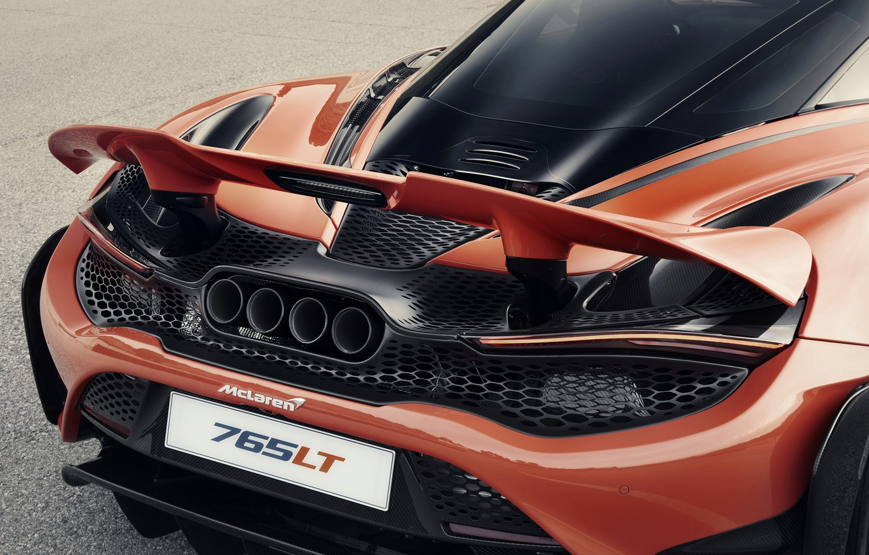 Photo wallpaper McLaren, 2020, 765 LT, 765 HP, 765LT, active wing