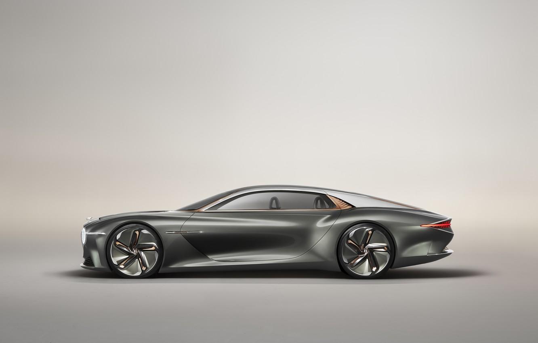 Photo wallpaper Concept, Bentley, side view, 2019, EXP 100 GT