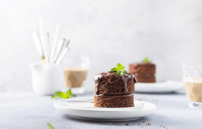 Photo wallpaper cake, dessert, chocolate