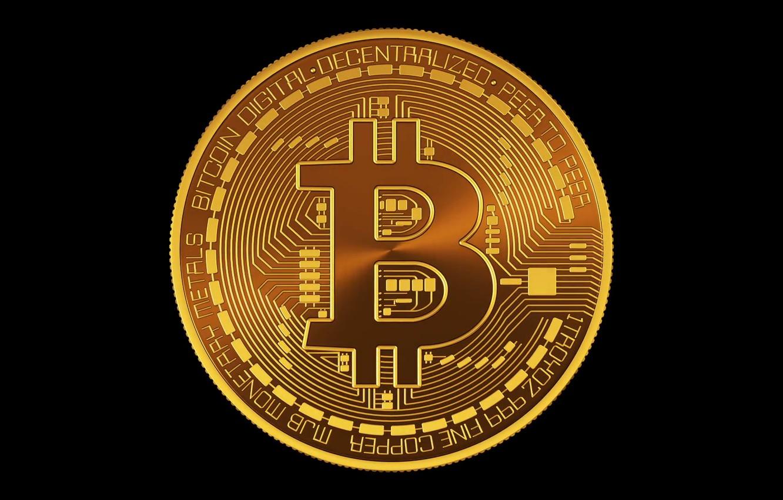 Wallpaper Black Black Fon Coin Bitcoin Btc Images For Desktop Section Hi Tech Download