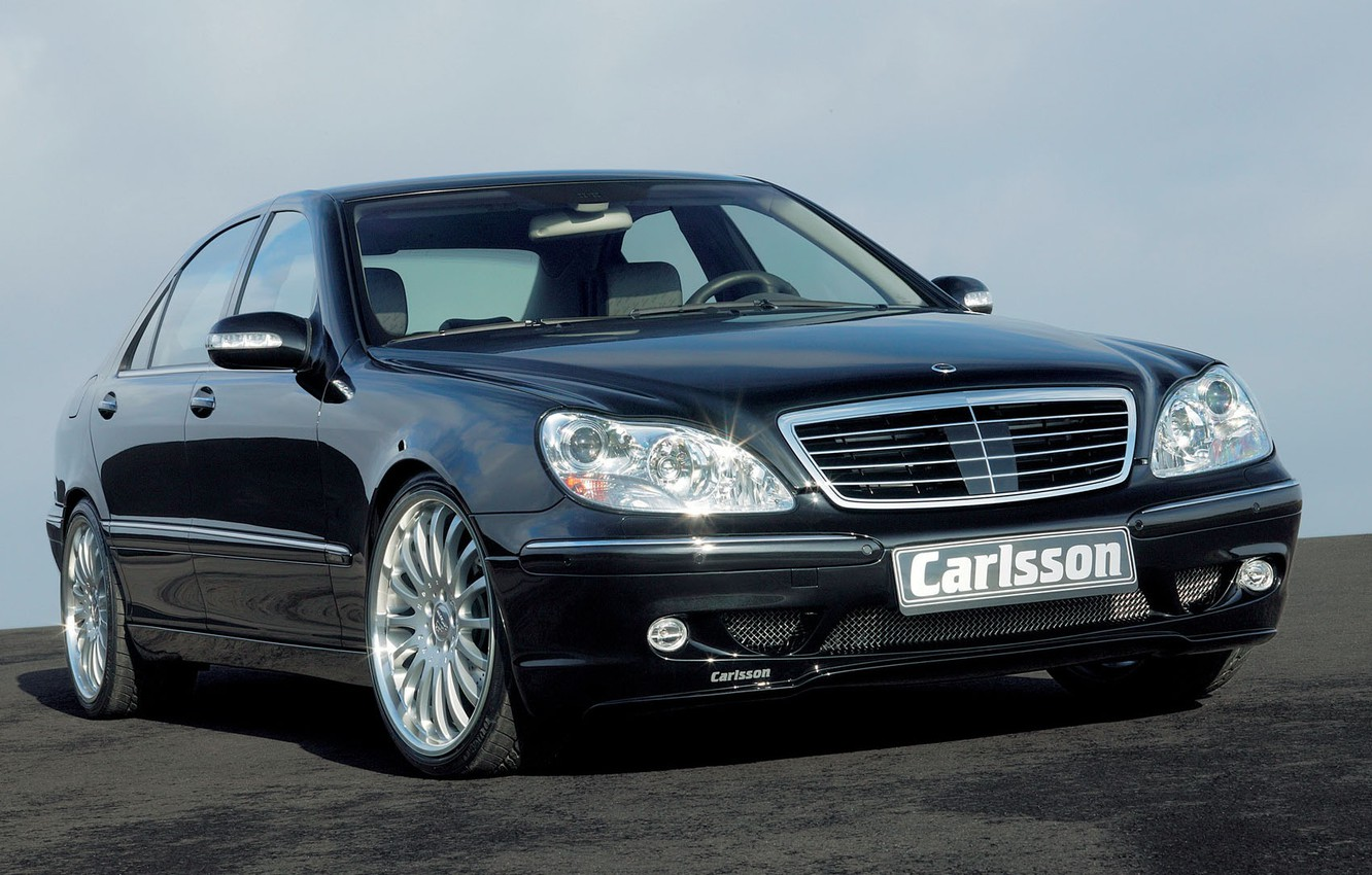 Photo wallpaper sedan, Carlsson, Executive, Mercedes-Benz W220, the fourth generation, The S-class