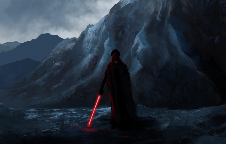 Wallpaper Figure Star Wars Sword Dark Side Art Sith Concept