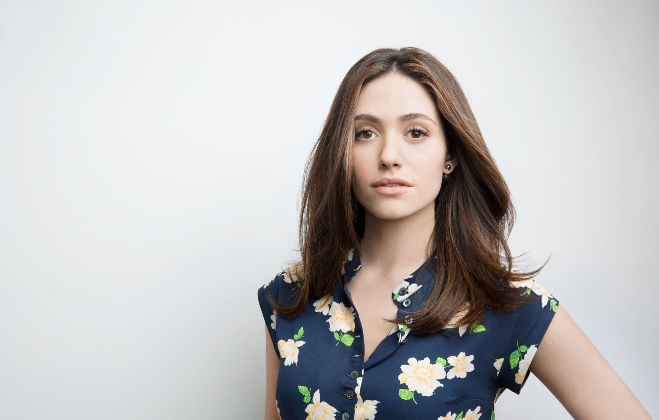 Wallpaper Portrait Actress Emmy Rossum Images For Desktop