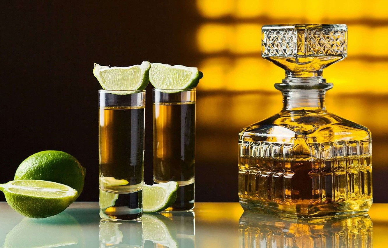 Photo wallpaper lime, boom, Tequila