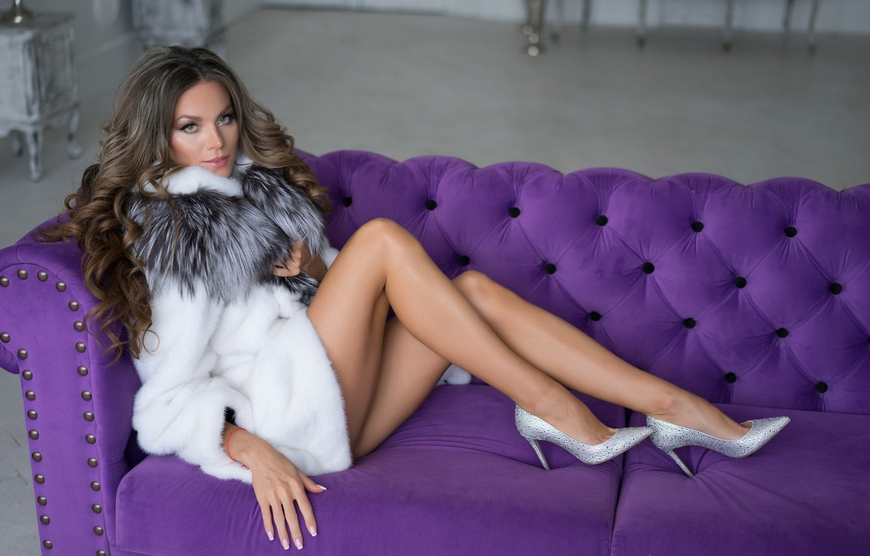 Photo wallpaper girl, sexy, model, legs, Lily Kapitonova, Alexander Plonsky