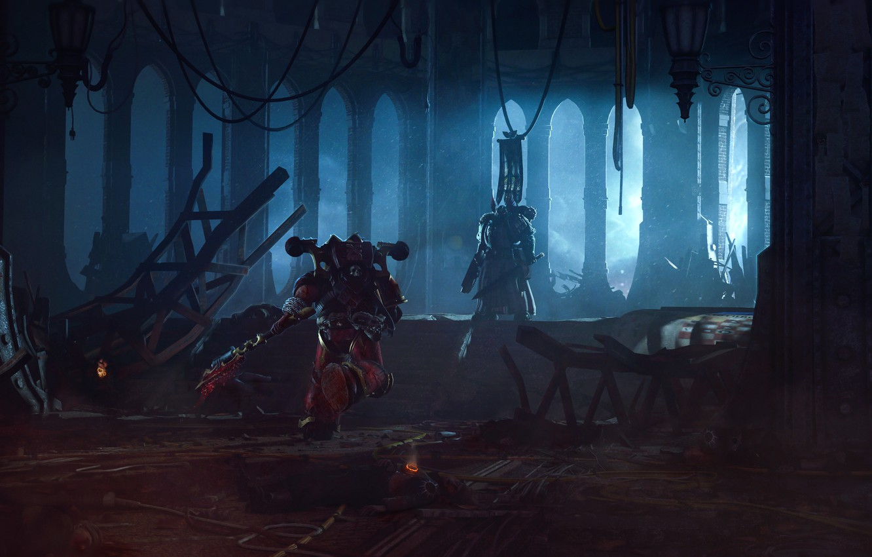 Wallpaper Warhammer 40 000 Traitor Azrael Dark Angel