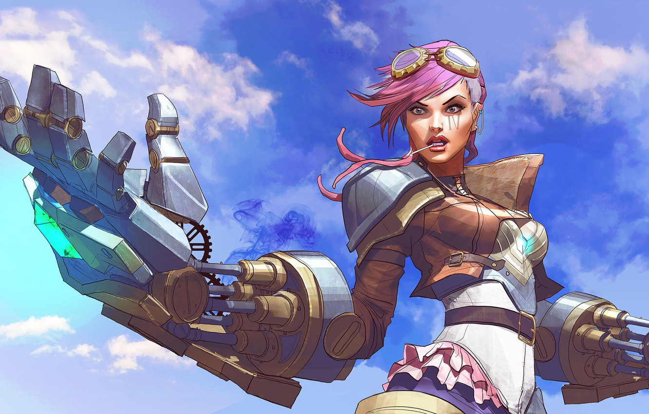 Wallpaper Girl The Game Girl Art Art Game League Of Legends