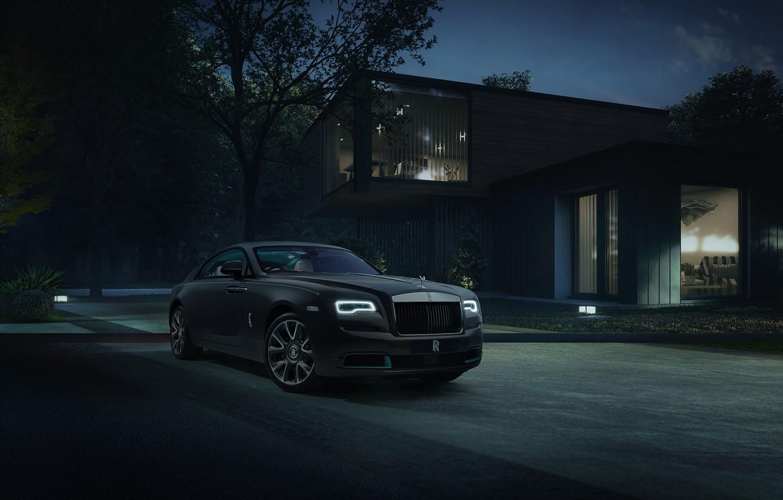 Photo wallpaper Rolls-Royce, sportcar, Rolls-Royce Wraith