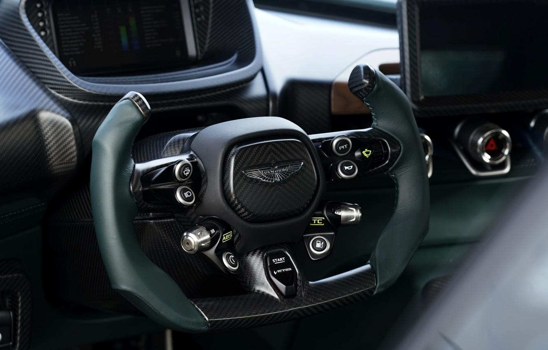 Photo wallpaper Aston Martin, coupe, the wheel, V12, Victor, 2020