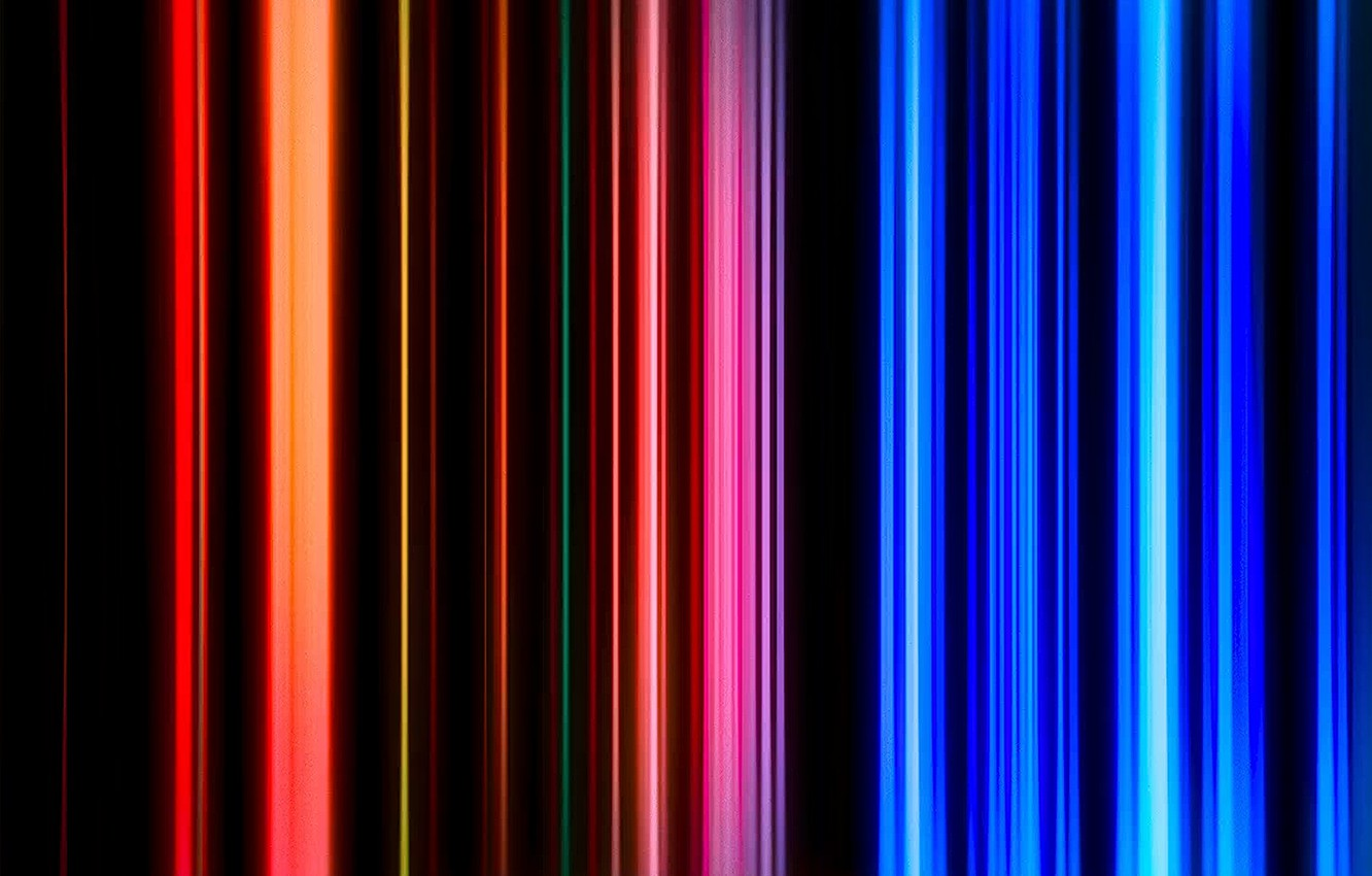 Photo wallpaper lights, background, color, rainbow, red, logo, texture, blue, lines, фон background, download Wallpaper, download Wallpapers …