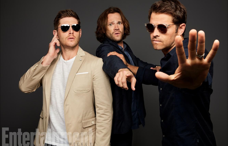 Photo wallpaper the series, Dean, Supernatural, Supernatural, Sam, Castiel