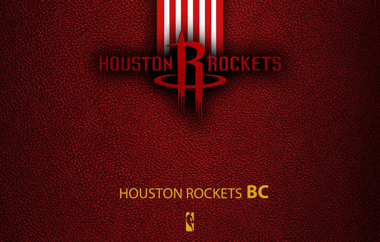 Photo wallpaper wallpaper, sport, logo, basketball, NBA, Houston Rockets