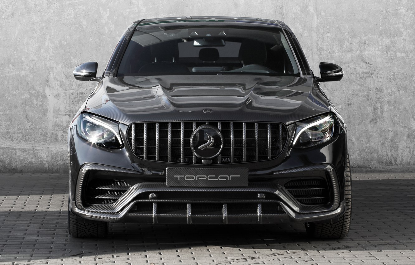 Photo wallpaper Mercedes-Benz, front view, AMG, Inferno, 2018, Ball Wed, GLC 63