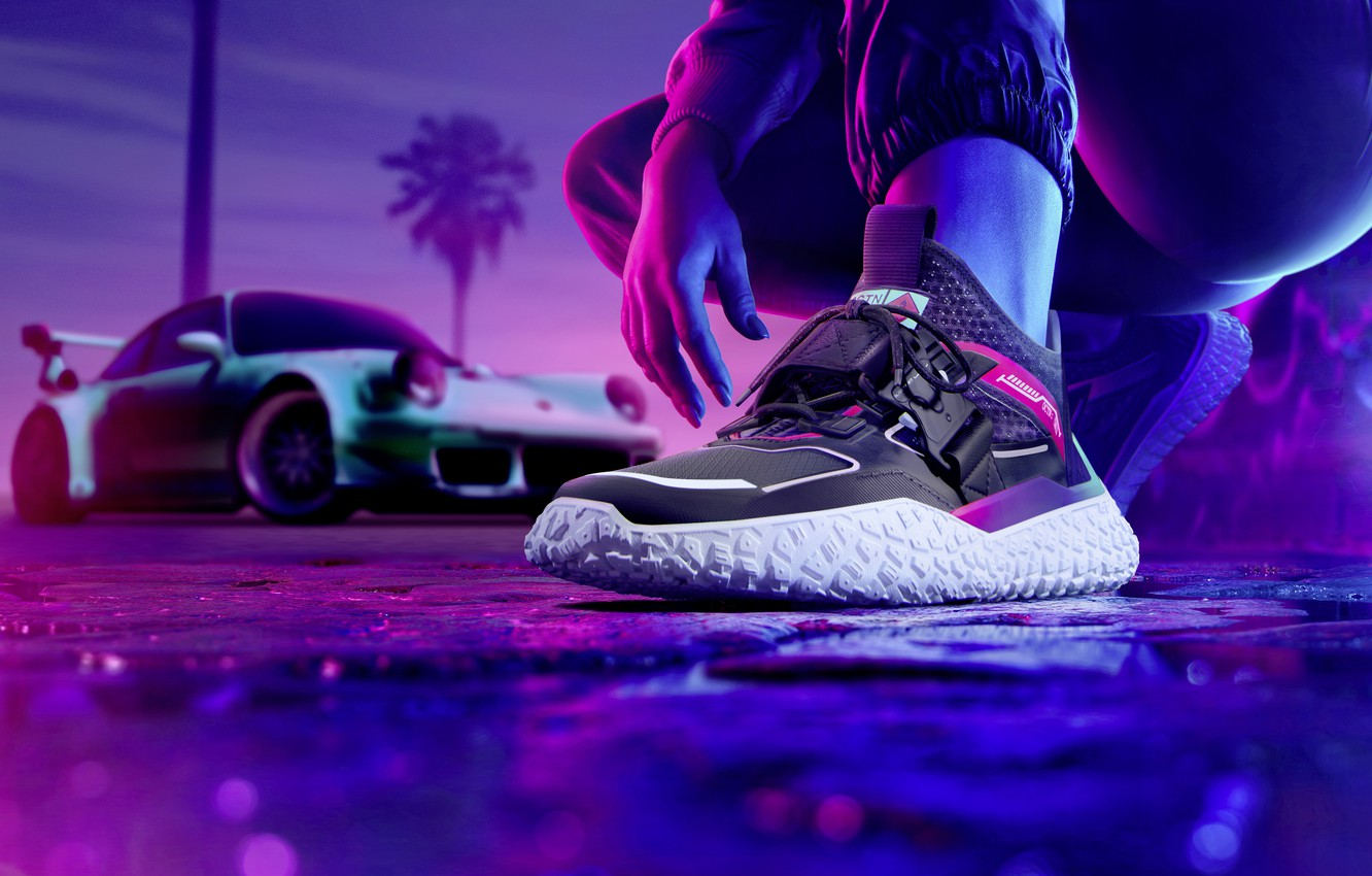 Wallpaper Sneakers Puma Need For Speed Heat Exclusive Sneakers