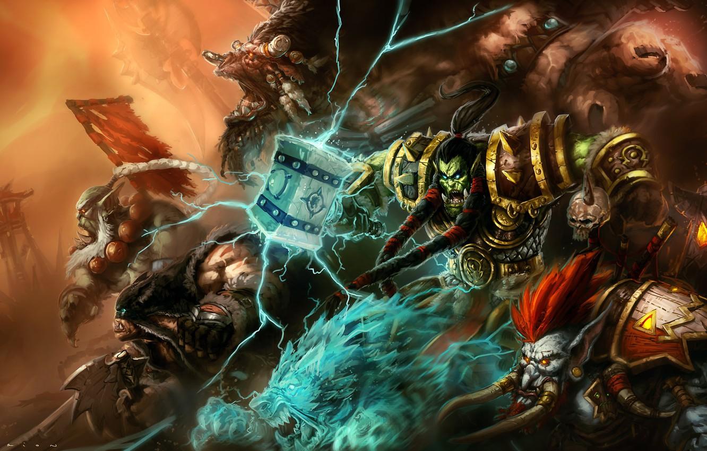 Wallpaper Blizzard Art Orc Warcraft Illustration Troll