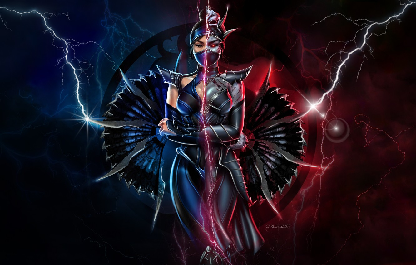 Wallpaper Lightning Zipper Fighter Art Mortal Kombat Mortal Kombat Mortal Kombat Kitana Princess Character Characters Mk11 Madeinkipish Mortal Kombat 11 Carlos Gzz By Carlos Gzz Images For Desktop Section Igry Download