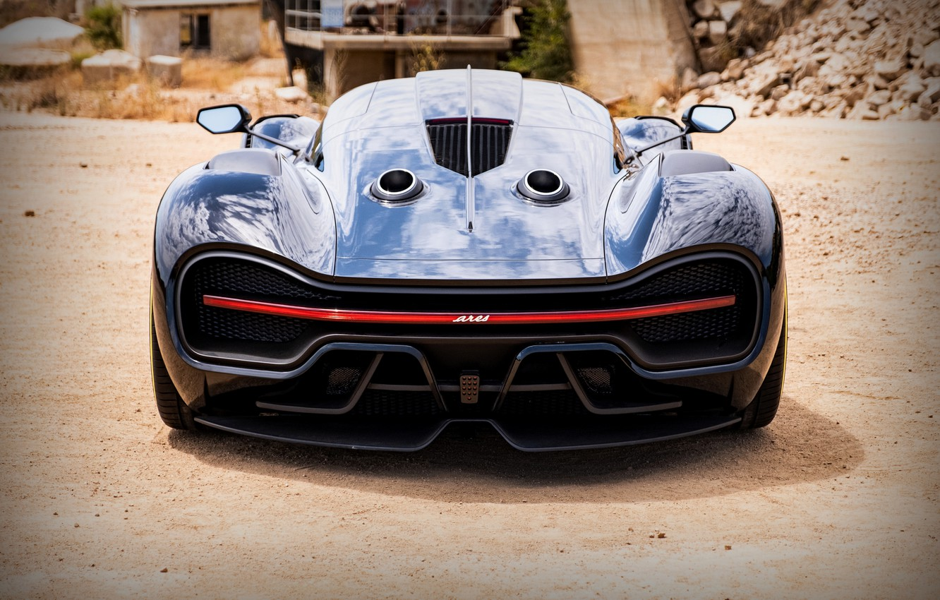 Photo wallpaper Prototype, rear view, 2020, V8, 2021, 715 HP, ARES Design, S1 Project