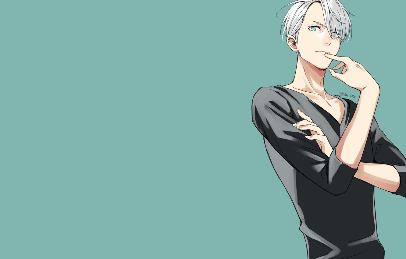 Wallpaper Victor Nikiforov Viktor Nikiforov Yuri On Ice Yuri On