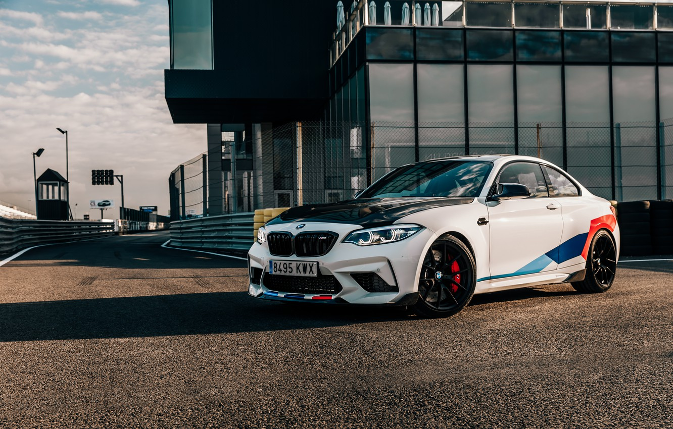Photo wallpaper BMW, 2018, Competition, F87, BMW M2, M Performance Accessories