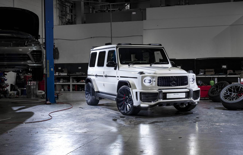 Photo wallpaper Mercedes-Benz, AMG, G-Class, Gelandewagen, G63, 2019, Urban Automotive